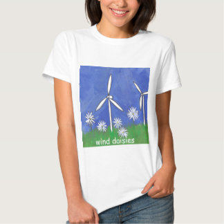 Wind Daisies T Shirts