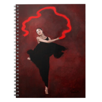Wind Dance Spiral Note Book