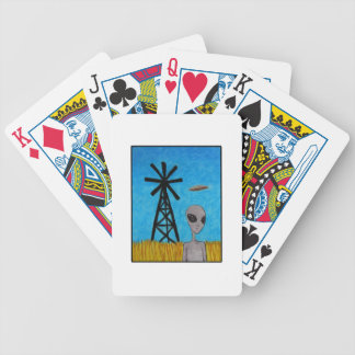 Wind Disk Bicycle Playing Cards