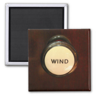 Wind drawstop square magnet