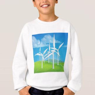 Wind Energy Power Turbines Generating Electricity Sweatshirt