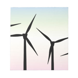 Wind Farm Morning Notepad