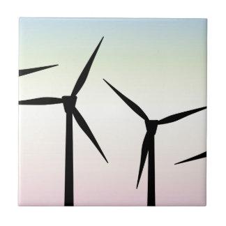 Wind Farm Morning Tile