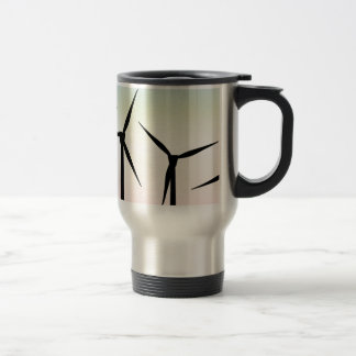 Wind Farm Morning Travel Mug