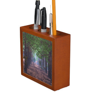 Wind in the Pines Desk Organizer