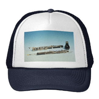 Wind instrument trucker hats