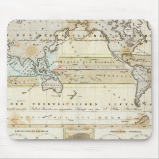 Wind Map of Earth Mouse Pad
