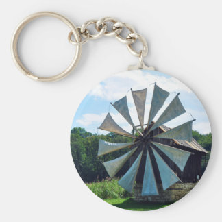 wind mill sibiu romania architecture history herit key ring