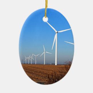 Wind mills.JPG Ceramic Ornament