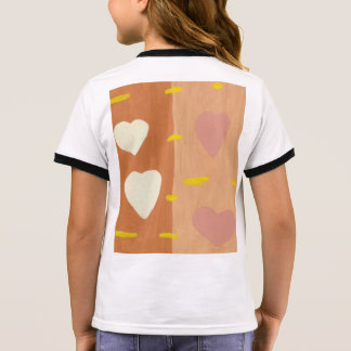 Wind of Love Girl's Ringer T-Shirt
