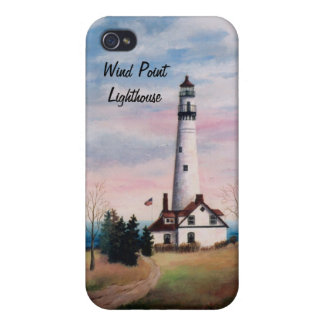 Wind Point Lighthouse IPhone 4 Case