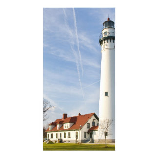 Wind Point Lighthouse Picture Card