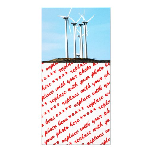 Wind Power (1) Photo Card Template