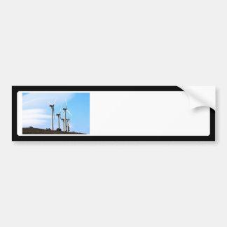 Wind Power (2) Bumper Stickers