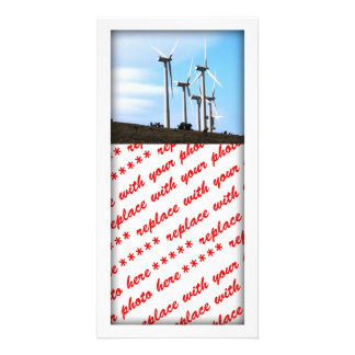Wind Power 2 Photo Card Template