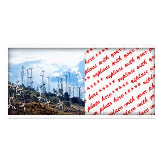 Wind Power (3) Photo Greeting Card