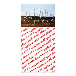 Wind Power (4) Customized Photo Card