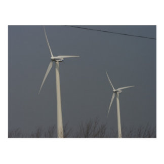 Wind Power in Minnesota and South Dakota Postcard