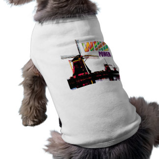 Wind Power Sleeveless Dog Shirt