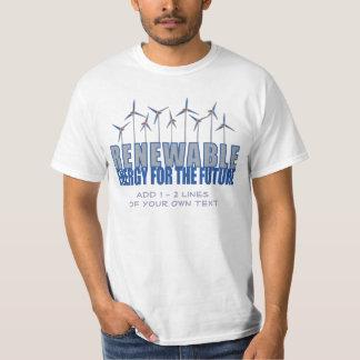 Wind Power Turbines T Shirts