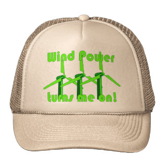 Wind Power Turns Me On Cap
