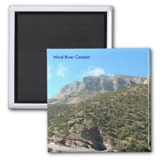 Wind River Canyon Magnet