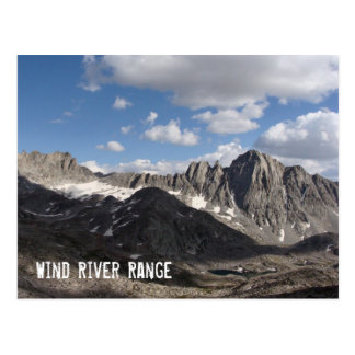 Wind River Range Postcard