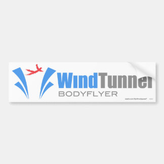 Wind Tunnel Bodyflyer Bumper Sticker