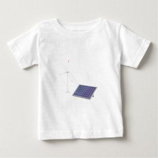 Wind turbine and solar panel baby T-Shirt