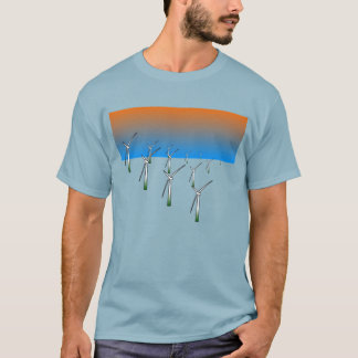 Wind Turbine Farm T-Shirt