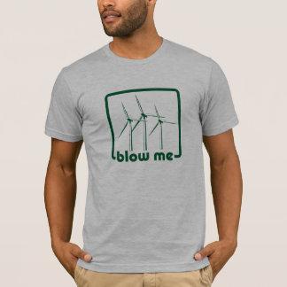 Wind Turbine Green Shirt