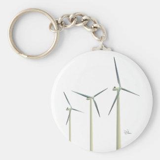 Wind Turbine Key Ring