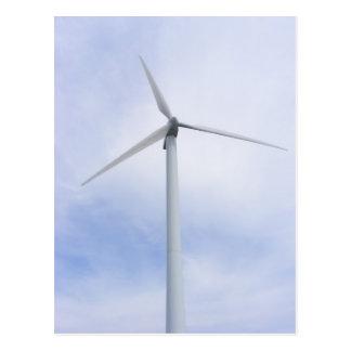 Wind Turbine ~ postcard