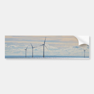 Wind Turbines Bumper Sticker