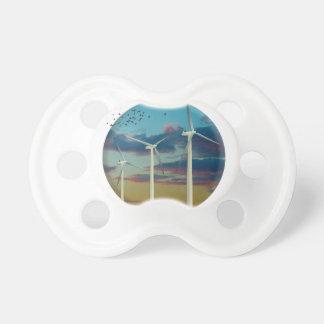 Wind Turbines Painted Sky Dummy