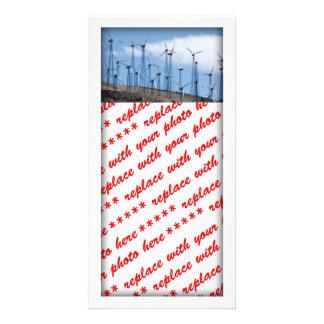 Wind Turbines Photo Card