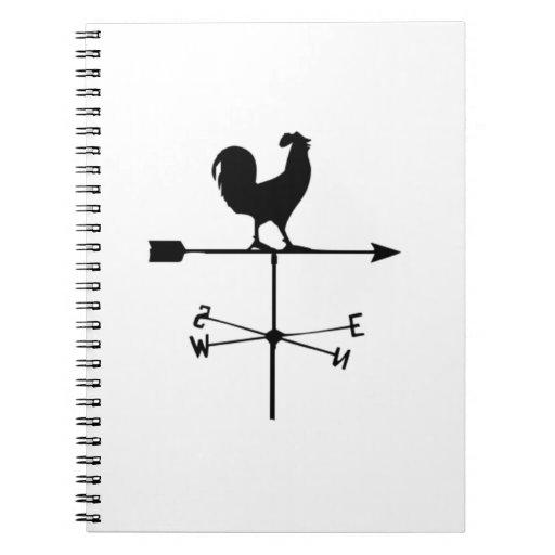 Wind Weather Vane Note Book