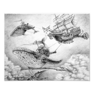 """""""Wind Whales"""" Photographic Print"""