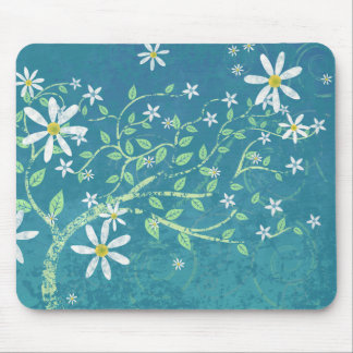 Windblown Daisies Mouse Pad