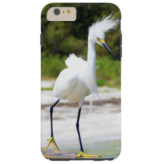 Windblown Egret Tough iPhone 6 Plus Case