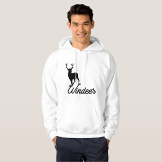 windeer for winter christmast day hoodie