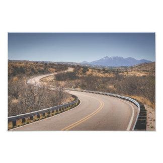 Winding Arizona Highway Photo Print