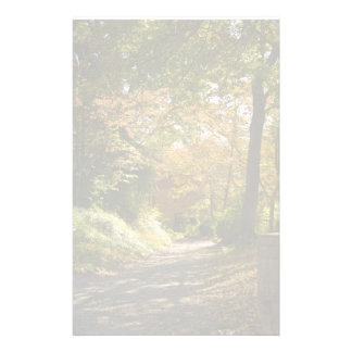 Winding Country Path Stationery Design