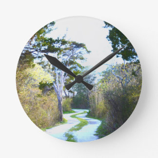 Winding Path Clocks
