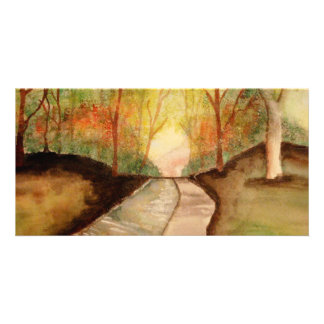 Winding Path Picture Card
