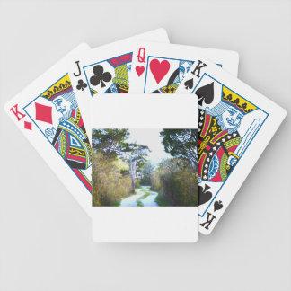 Winding Path Poker Deck