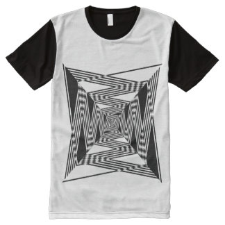 Winding Road ( Path,  Labyrinth) All-Over Print T-Shirt