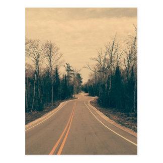 Winding Road Postcard