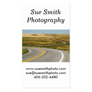 Winding Road - Rusty Old Railroad Bridge Pack Of Standard Business Cards