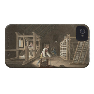 Winding, Warping with a New Improved Warping Mill iPhone 4 Cover
